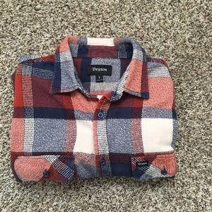 Britton flannel button down shirt